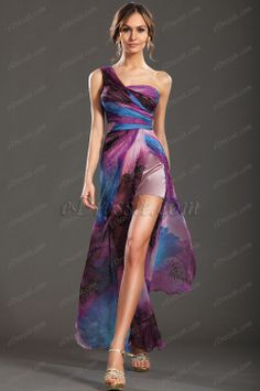 #edressitfloral #edressit #dresses #one_shoulder #evening_dress #printed_dress www.edressit.com