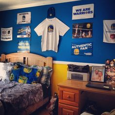 golden state warriors boys bedroom - Google Search
