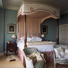 Interior designer Serena Williams-Ellis on how to age a new property and give it a timeless look and feel – as at Lazonby Manor, her family home in the north of England Country Interior, Interior And Exterior, Interior Design, Home Bedroom, Master Bedroom, Bedroom Ideas, House Plans Uk, Family Room, Home And Family