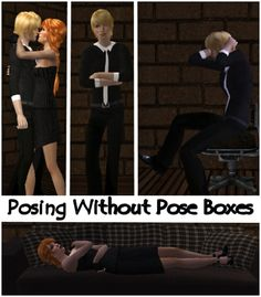 Posing Without Poseboxes