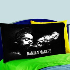 Mz4-damian Marley Jr Gong Jamaican Reggae  Pillow Case For Bed Bedding