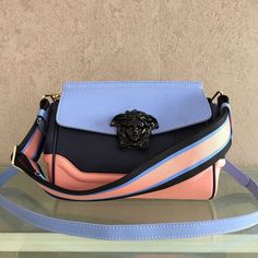 e0002c8bdb Versace Mini Palazzo Empire Leather Bag cm -Top quality calfskin -Crossbody  style bag from the Palazzo Empire line crafted .