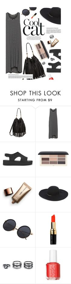 """""""""""Nobody has ever measured, not even poets, how much the heart can hold."""" - Zelda Fitzgerald"""" by are-you-with-me ❤ liked on Polyvore featuring B-Low the Belt, Mat, Melissa, H&M, Nude by Nature, Eugenia Kim, Bobbi Brown Cosmetics, LULUS and Essie"""