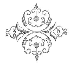 an embroidery pattern