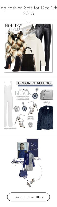 """""""Top Fashion Sets for Dec 5th, 2015"""" by polyvore ❤ liked on Polyvore featuring Yves Saint Laurent, Tory Burch, GUESS by Marciano, Marni, Alaïa, holidaystyle, Calvin Klein, Samsøe & Samsøe, MICHAEL Michael Kors and Carolee"""