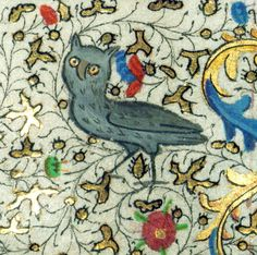 discarding images — owl book of hours, Hainaut ca. 1450-60 Baltimore,...