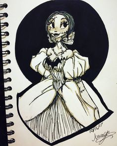 Once again I'm LATE…I KNOW so here would be inktober day So I thought I would draw the beautiful pumpkin queen herself! Nightmare Before Christmas Pictures, Corpse Bride Art, Jack And Sally, Jack Skellington, Stop Motion, Christmas Art, Disney Art, Inktober, Cartoon Art
