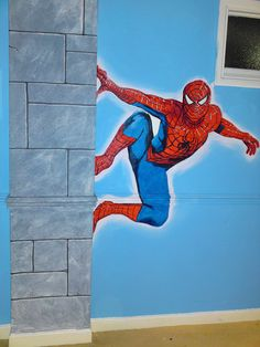 spiderman room ideas - Google Search