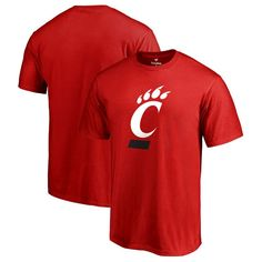 Cincinnati Bearcats Fanatics Branded Primary Logo T-Shirt - Red