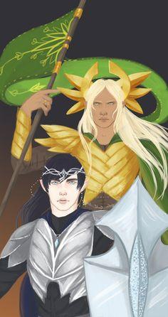 Ecthelion and Glorfindel
