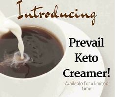 The body gets Energy from: Carbs Proteins Fats Welcome fakanal01 caffee Our new Prevail Keto Creamer puts the good fatty acids into the body for the body to use as energy. So that we are not dippin…