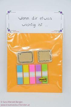 Wenn dir etwas wichtig ist ...  Ideen für selbstgemachte Geschenke - die Wenn-Box    #wennbox #selbstgemachtegeschenke #kreativesschaffen