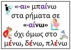 Grammar - ΠΡΩΤΟ ΚΟΥΔΟΥΝΙ Letter Activities, Educational Activities, Grammar Posters, Special Education, Kids Learning, Nursery, Teaching, Lettering, School