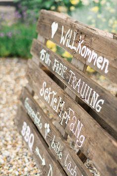 Kreative Sommerhochzeit mit tollen Ideen für Kinder | Hochzeitsblog The Little Wedding Corner