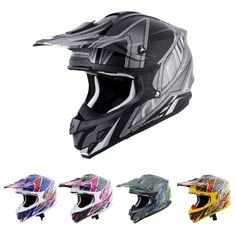 Scorpion VX-34 Sprint Off-Road MX Helmet