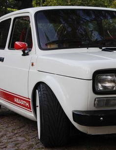 Sic — life-and-everything: bossride: Fiat 147 Abarth. 147 Fiat, Fiat Uno, National Car, Fiat Abarth, Ford Mustang Gt, Car Wrap, Steyr, Old Cars, Cars And Motorcycles