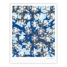 "Miranda Mol ""Ice Topography"" Fine Art Gallery Print"