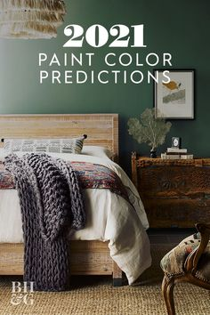 If you're looking to hit refresh with a new splash of color, take your cues from the color experts at Sherwin-Williams, who just released their 2021 paint color predictions. Here are some of the top paint colors you can expect to see in 2021. #2021painttrends #bestpaintcolorsof2021 #roomcolorideas #paintideas #colorinspiration #bhg Top Paint Colors, Living Room Paint, Paint Trends, Paint Colors, Trendy Paint Colors, Master Bedroom Paint, Trending Decor, Popular Paint Colors, Trending Paint Colors