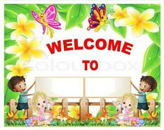 Teacher Fun Files: Classroom Welcome Banners Welcome Sign Classroom, Classroom Door Signs, Classroom Rules Poster, Classroom Banner, Classroom Birthday, Classroom Board, Preschool Writing, Preschool Worksheets, Welcome To Class