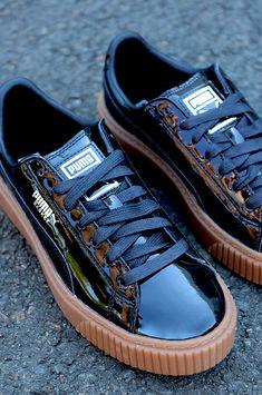 5274c9ecc24e PUMA Basket Platform Patent Damen Sneaker 363314-08 für nur 39