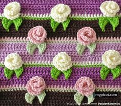 Узор «Розочки». МК Crochet Cowl Free Pattern, Granny Square Crochet Pattern, Crochet Stitches Patterns, Baby Knitting Patterns, Easy Crochet, Crochet Afghans, Crochet Baby Sandals, Crochet Slippers, Crochet Flower Headbands