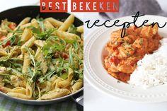 Ondanks het mooie weer was het de afgelopen week toch lekker druk op de site. Het is te merken dat er weer massaal is gezocht naar zomerse recepten, de top 10 best bekeken recepten van de afgelopen week staat er weer vol mee. 1. Pasta kip-pesto saus 2. Pastasalade met gerookte kip 3. Snelle stroganoff...Lees Meer »