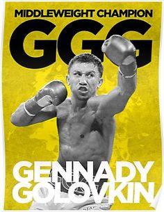 7d49e4e3 Middleweight Champion Poster. Ggg BoxingHard To Be HumbleGennady GolovkinMike  TysonYoung ManShirt ...