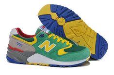 1734   New Balance 999 Herr Grön Gul SE503833JYQvptd Zapatillas New  Balance a8cc4d2833d75