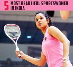 5 Most Beautiful Sportswomen in India, 1. Sania Mirza, 2. Tania Sachdev, 3. Dipika Pallikal - Hello Travel Buzz