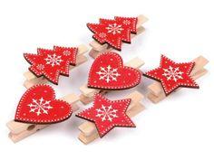 Výsledek obrázku pro kolíčky na vánoční dárky
