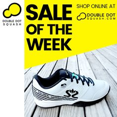 SALE OF THE WEEK: Salming Viper 5 Squash Shoes.⁠ SALE PRICE $199. Regular Retail Price: $250.⁠ -⁠ #doubledotsquash #squash #brownsbayracquetsclub #hernebayracketsclub #squashauckland #squashnz #squashnewzealand #squashcoaching #squashcoach #juniorsquash #psaworldtour #lovesquash #squashclub #squashcourt #squashies #squashplayer #squashgoals #squashlife #squashing #squashlife #squashaddict #squashing #salming #salmingsquash #doubledotsquashshop Squash Club, Squash Shoes, Dot Shop, Double Dot, Tennis Gear, Red Beach, Best Player, Looking Forward To Seeing, Retail Price