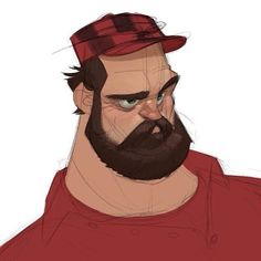 A quick #Lumberjack for today's @sketch_dailies theme. I wanted to spend a little more time on it, but didn't really have any to spare. #randybishopart #characterdesign #sketch #artistsoninstagram