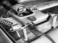 Interior of the 1958 Ford La Galaxie Concept