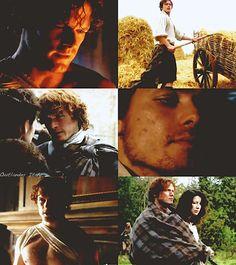 Jamie Fraser (Sam Heughan) from Outlander Disappearance trailer