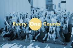 """Thank you to the Everyone Counts project for empowering humanity with music!  I donated $1 """"Right now, together, we change the world."""" www.1millionpeople.org"""