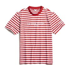 Guess Originals x A$AP Rocky Classic Stripe Crew Tee, $59, available at Guess. #refinery29 http://www.refinery29.com/2016/01/102202/asap-rocky-guess-originals-collection-images#slide-11
