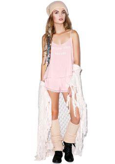 Wildfox Couture Follow Your Dreams Cami Sleep Set | Dolls Kill small