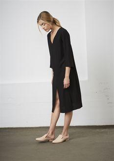 Show details for Paisley Dress  - Black