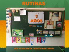 RUTINAS 3 AÑOS  CEIP PLURILINGÜE CONCEPCIÓN ARENAL