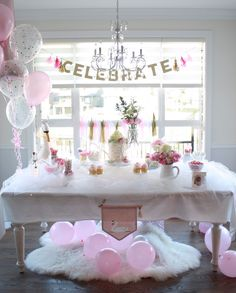 Swan Princess 1st Birthday Party on Kara's Party Ideas | KarasPartyIdeas.com (19) #1stbirthday #rufflecake #swanprincess #girlbirthday #balletbirthday #gorgeousbirthday #swanbirthday #kidsbirthdayparty #realbirthday