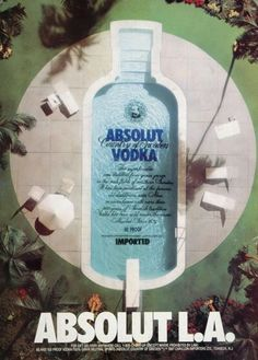 A timeless campaign  Creative Absolut Vodka Ads | From up North
