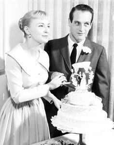 Joanne Woodward in1958  (marrying Paul Newman)