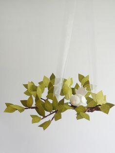 Mod Tree Limb Mobile by Fischtale Design on Gilt. #baby #nursery