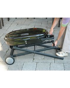 Weber Q100 8,500 BTU Single Burner Portable Gas Grill, Black $149.00 |  +Cottage+ | Pinterest | Gardens, Charcoal Grill And Patios