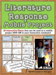 Hanger Mobile for Book Report   Texts  Book reports and Science Engage your students with this ecosystem or biome hanging mobile  Students  can create a mobile