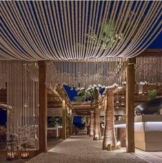 Project with ropes | Chora Art Home & Design | Mykonos