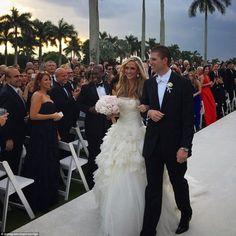 Eric Trump wedding details and photos 2014 Eric Trump, Malania Trump, Donald Trump Sohn, Donald Trump Family, Celebrity Couples, Celebrity Weddings, Celebrity Pics, Trump Kids, Tatiana Santo Domingo