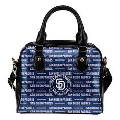 Nice Little Logo San Go Padres Shoulder Handbags Best Funny
