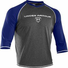 "Under Armour Men's Baseball 3/4"" Sleeve Shirt"