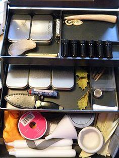 Magickal Ritual Sacred Tools: A portable altar/chest, for Magick on the go.
